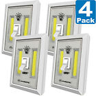 LED Night Light, Kasonic 200 Lumen Cordless COB LED Light Switch Battery Include