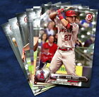 2017 Bowman And Prospects Los Angeles Angels Baseball Card Your Choice You Pick