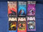 LOT OF 6 MARGARET WEIS & TRACY HICKMAN Rose Of Prophet Dark Sword