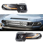 Including Grille +Toyota FJ Cruiser LED Halo Projctor Headlight Fit For 07-15