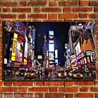 NEW YORK TIMES SQUARE CANVAS WALL ART BOX PRINT PICTURE SMALL/MEDIUM/LARGE