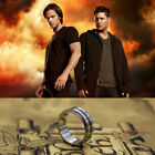 USA Supernatural Dean's Ring Necklace Titanium Steel Size 7~12 with a CHAIN