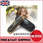 Easttop T008K Diatonic 10 Hole Portable Pro Blues Harmonica A B C D E F G  *UK*