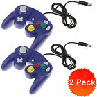 2 x Nintendo Smash Bros GameCube/ Wii Controllers/ A Wii U Adapter Converter NEW