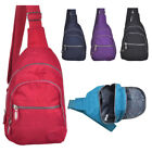 Mens - Ladies Lightweight Single Strap Sling Bag - Backpack - Rucksack