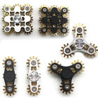 Fidget Finger Spinner Toy Gear Metal Linkage  EDC Focus Toy For Adults KIds