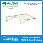 Austral Unit Line Wall Mounted Clothesline Apartment Living FREE DELIVERY