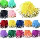 """100pcs Cellphone Strap Lanyard Braided Lariat Cords Clasp 1.97"""" Wholesale"""