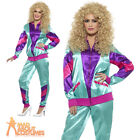 Adult 1980s Shell Suit Height of Fashion Costume Ladies Retro Scouse Fancy Dress