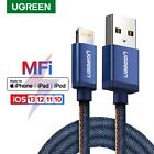 UGREEN MFi Lightning Cable Denim USB Cable Fast Charge Cable Fr iPhone iPad iPod