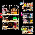 hamster c - 1/2/3 Stroy Hamster Cage Castle Mouse Rabbit Habitat House Small Pets Supplies