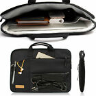 "BLACK LAPTOP BAG With Zip & 2 Handles Sleeve Skin Case For 13"" MacBook Air Pro"