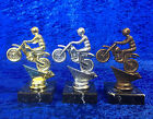 Motocross Motorbike Gold Silver Bronze Trophy Award Competition FREE engraving