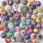 New Colorful Polymer Clay Rondelle Beads 12x8mm Charms Jewelry Findings DIY