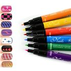 Fashion Nail Art Pen Painting Design Tool 12 colors to Choose Drawing Gel NC8901