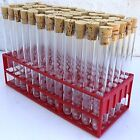 20 ml Test tubes with Corks and tray .Wedding favours, shot drinks etc . New