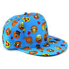 Boy Girls Kids Baby Baseball Cap Cartoon Hip Hop Toddler Snapback Beanie Sun Hat