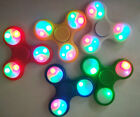 Hand Spinner Tri Fidget Finger Kreisel EDC ADHS Focus Toys LED / Luminous