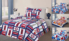For Boys & Girls Kids Design TWIN Quilt Bedding Bedspread with 1 Pillowcase Set