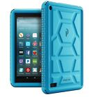 Poetic TurtleSkin【Heavy Duty Protection Silicone】Case For Fire 7/ Fire HD 8 2017