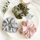 Lady Girls Ponytail Women Ties Elastic Bands Hair Scrunchies Pure Color