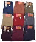 Levis 514 Men's Casual Corduroy Pants Choose Color & Size