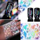 Galaxy Shiny Laser Effect Nail Art Foil Rose Flower Lace Laser Manicure Decals