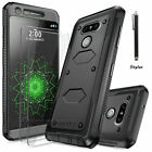 Hybrid Armor Rugged Shockproof Protective Hard Case Cover For LG G5 H850 Phone