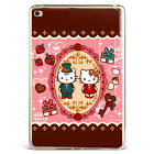 Hello Kitty Couple Gift Soft Silicone Case Cover For Samsung Galaxy iPad DE61