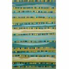 Trans-Ocean Seville Mosaic Stripe Wool Hand-Tufted Rug