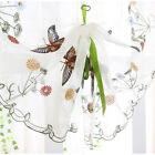 """Butterfly Roman Curtains Kitchen Balloon Shades Cafe Rustic Sheer 32x79"""" 1 Piece"""