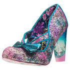 Irregular Choice Hello Ha Womens Shoes Purple Green New Shoes