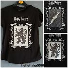 Official Harry Potter Logo 2 Way Brush Sequins Tee Top 2-13 Primark