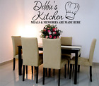 FAMILY WALL ART STICKER PERSONALISED QUOTE KITCHEN HOME DECOR WORDS & PHRASES