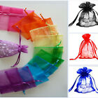 Colorful Sheer Organza Wedding Party Favor Gift Candy Bags Jewelry Pouches