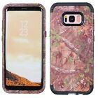 Hybrid PC+ TPU Shockproof Rugged Rubber Case Cover For Samsung Galaxy S8 / Plus