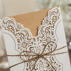 2015 new arrival wedding invitation card with laser cut Free envelopes PKB14113