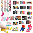 Baby Toddler Girl  Mixed Assorted Color Ankle Socks Wholesale Lot 0-12 2-3 4-6