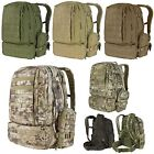 Condor 125 Tactical MOLLE PALS Hiking Patrol 3 Day Mission Assault Backpack Pack