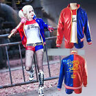 Harley quinn cosplay jacket giacca puddin joker jolly suicide squadra squad new