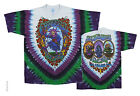 "Grateful Dead ""Seasons Of The Dead"" Dbl Sided Sunburst Tie-Dye T-Shirt-FREE SHIP"