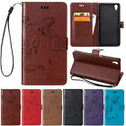 Butterfly Leather PU Card Pocket Kickstand Case For SONY Xperia Z5 Compact Z4 Z3