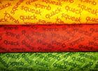 10 Little Rubber Ducks Quack Words Eric Carle Andover Quilt Cotton Fabric YARDD