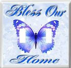 BUTTERFLY BLESS OUR HOME LIGHT SWITCH COVER PLATE OR OUTLET V947