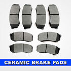 FRONT + REAR Ceramic Brake Pad 2 Sets Suzuki XL-7, Saturn Vue, Chevrolet Equinox