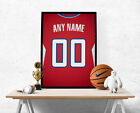 Los Angeles Clippers Jersey Poster - Personalized Name & Number FREE US SHIPPING on eBay