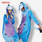 Hot Unisex Adult Pajamas Kigurumi Cosplay Animal Onesie1 Sleepwear Eeyore Donkey