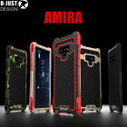 R-JUST 360°Protective Shockproof Armor Metal Case For Samsung Galaxy S9/S8/Note8