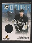 2011 PINNACLE CITY LIGHTS SIDNEY CROSBY PITTSBURGH PENGUIN JERSEY CARD 319/499