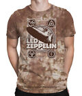 ZEPPELIN POSTER Officially Licensed Led Zeppelin tee, sizes M - 6XL Heavy Rock,